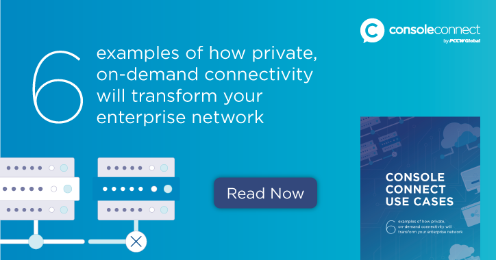 SDN and private connectivity eBook | Console Connect by PCCW Global